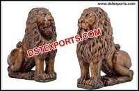 Fiber Lion Statue