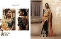 Shaded Traditional Saree