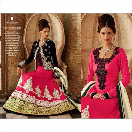 Jacket Style Heavy Anarkali Suit