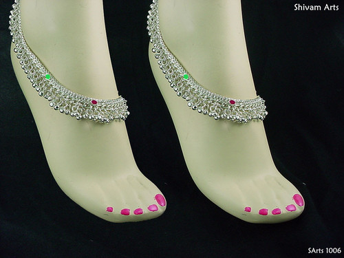 Artificial Fancy Anklets (Adult)