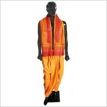 Puja Dhoti Chadar Set