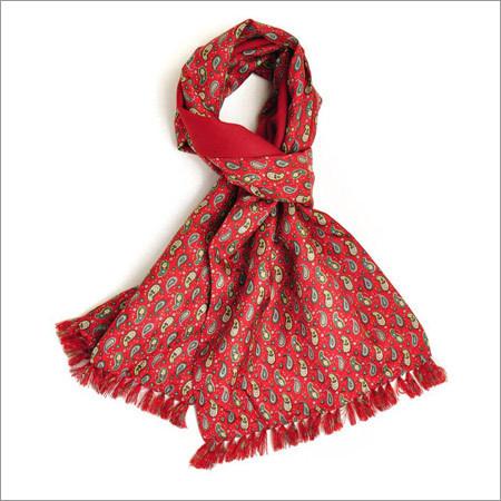 Wool Silk Muffler