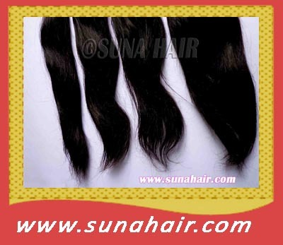 LONG SIZE WEFT SILKY STRAIGHT REMY VIRGIN HUMAN HAIR