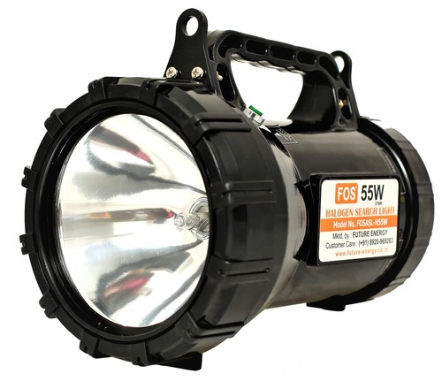 FOS Halogen Army Search Light 55W - Range of up to 1 km.