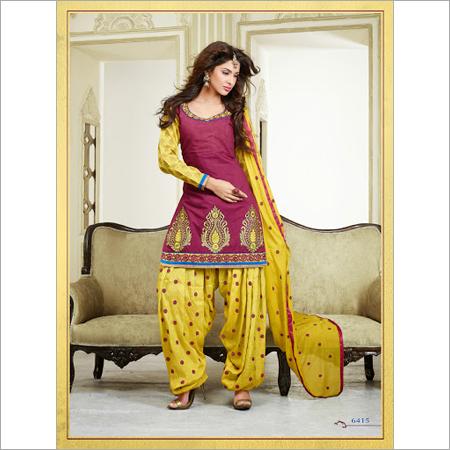 Designer Ladies Patiala Suit