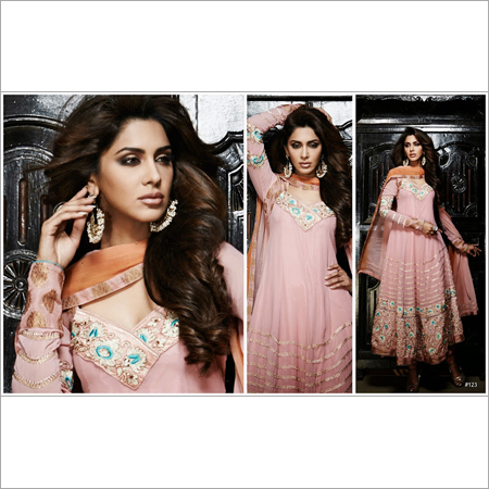 Lace Anarkali Suit