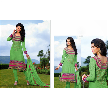 Colored Anarkali Suits