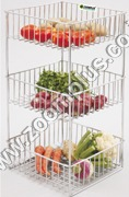 Stainless Steel Fruit Rack