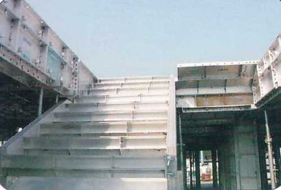 Staircase Formwork Height: 600 Millimeter (Mm)