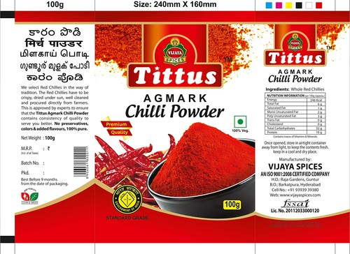 Red Chilly Powder Dealers