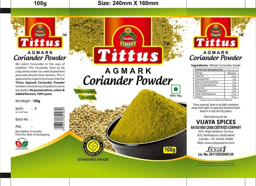 Coriander Powder Dealers