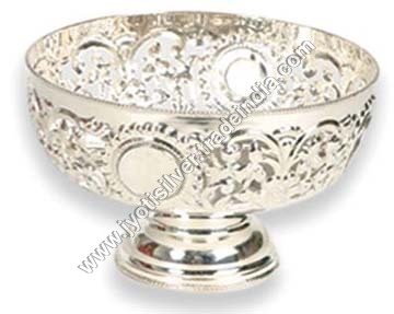 Silver Icecream Bowl