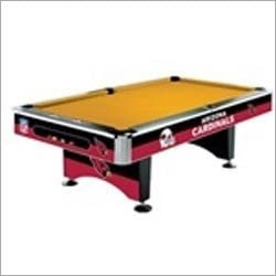 Cardinals Pool Table