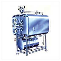 High Pressure Steam Sterilizer Horizontal Cylindrical