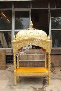 Brass Metal Palki Sahib