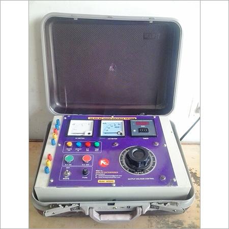 High Voltage Test Set Panel