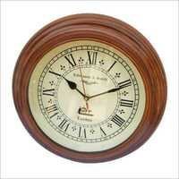 Antique Handmade Wooden Clock