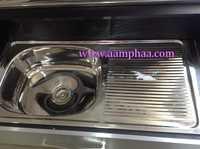 Single Bowl Kitchen Sink Top Mount
