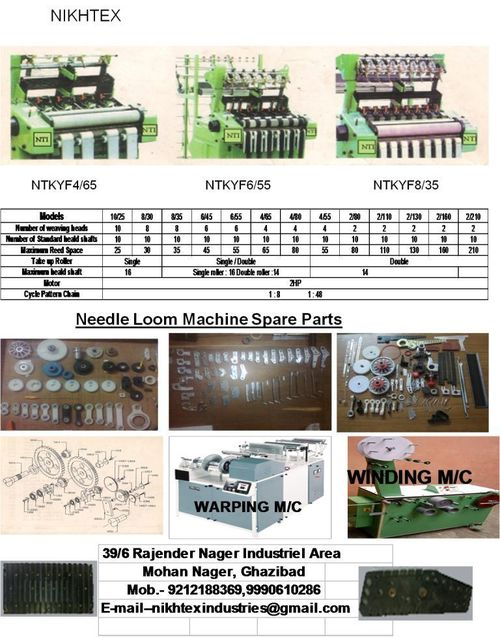 Manufactured Products By Our Machines