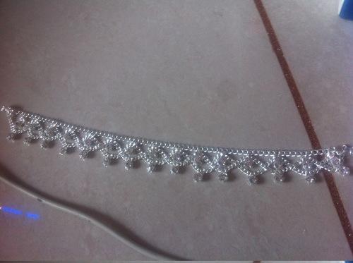 American Diamond Anklet