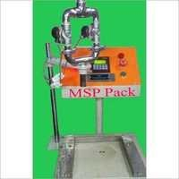 semi auto weight metric oil filling machine