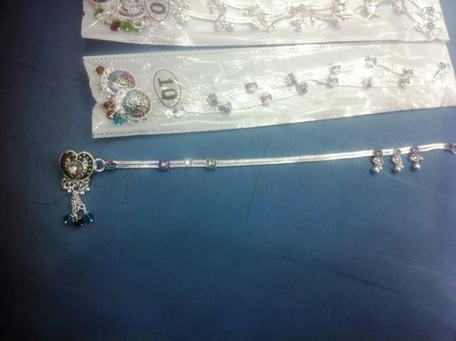 Antique silver payal