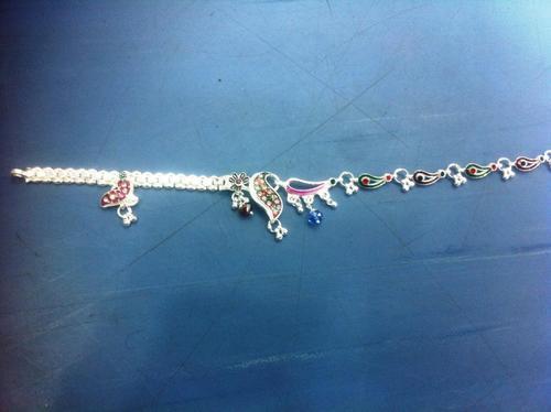 Silver Anklets design