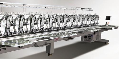 MULTI HEAD AUTOMATIC EMBROIDERY MACHINE