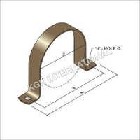 Steel Saddle Clamp