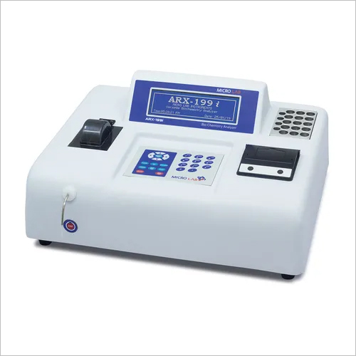 Semi Auto Biochemistry Analyzer