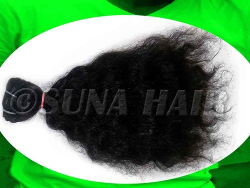 100% Unprocessed Silky Curly Grade A human Hair Weaving