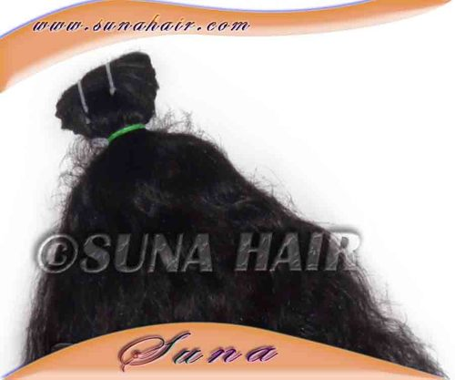 Silky Curly 100% Unprocessed Fashion Indian Human Hair Extensions