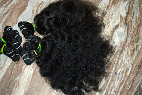 Indian Silky Curly Best Quality Human Hair
