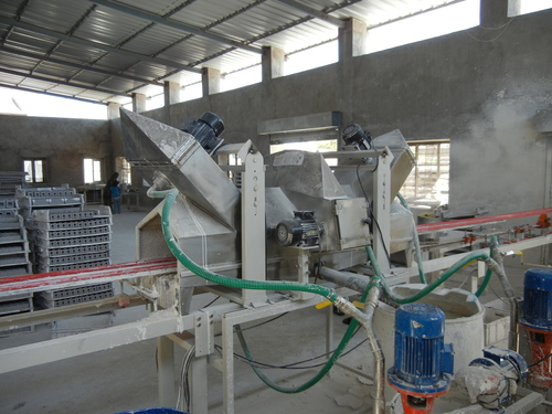 Fuse glazing machine