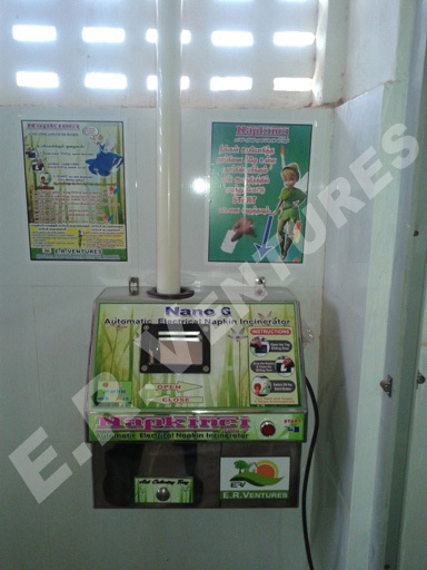 Toilet Equipments - Sanitary napkin incinerators