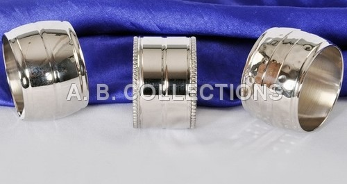 Round Double Line Napkin Ring