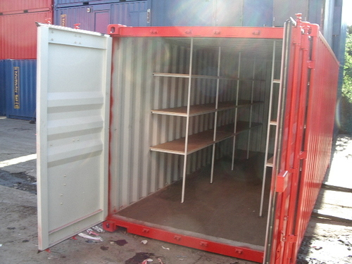 Container Storage Racks