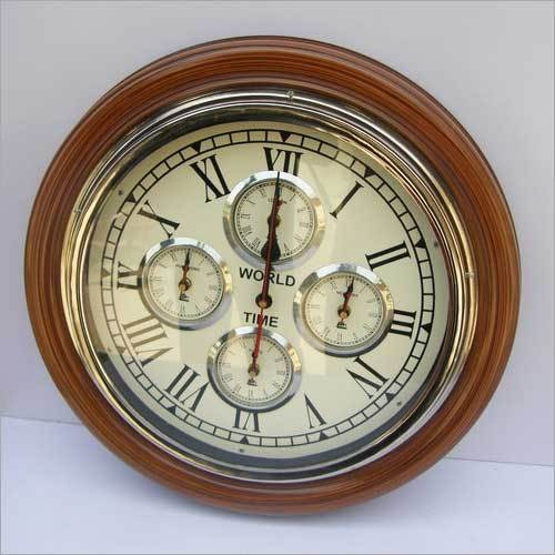 NEW INDOOR WALL CLOCK VINTAGE STYLE HANGING CLOCK