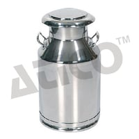 Milk Can Stainless Steel Cap