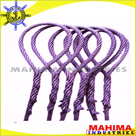 Manual or Hand Spliced Wire Rope Slings