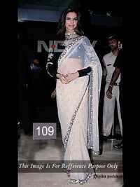 Bollywood Deepika Padukone Net Saree