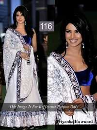 Priyanka Chopra Net and Velvat Saree