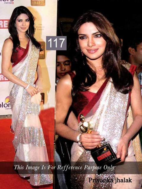 Priyanka Chopra Desinger Saree