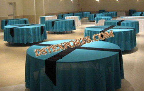 BANQUET HALL TABLE CLOTHES