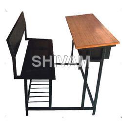 3 Seater Schreibtisch-Bank