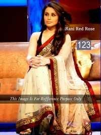 Rani Mukherjee Designer Sarees