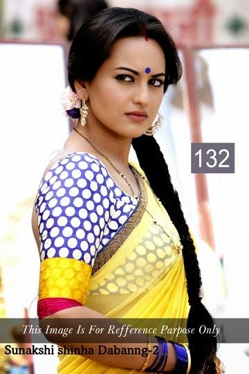 Sonakshi Sinha Dabangg Fancy Saree
