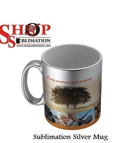 Sublimation Blank Silver Mug