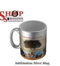 Sublimation Blank Silver Mug