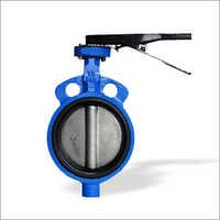Wafer Type Lever Operated Butterfly Valve